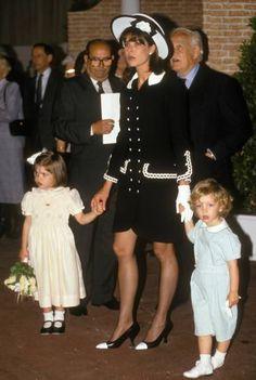 Andrea Casiraghi, Charlotte Casiraghi, Beatrice Borromeo, Grace Kelly, Albert Von Monaco, Princesa Carolina, Mode Chanel, Monaco Royal Family, Princess Caroline Of Monaco
