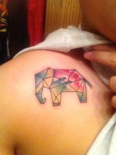 Elephant Tattoo Done By Sammy At World Class In Milwaukee