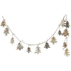 Birch Bark Tree Garland