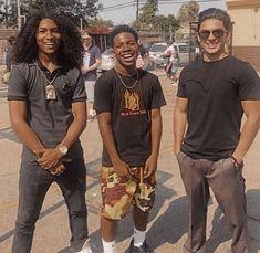 Cute Lightskinned Boys, Cute Black Guys, Gorgeous Black Men, Fine Black Men, Aesthetic Movies, Aesthetic Clothes, Netflix Cast, Boys With Curly Hair, Fine Boys