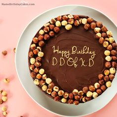 I have written d d of x d Name on Cakes and Wishes on this birthday wish and it is amazing friends, hope you will like it. Visit this website and write your own name.