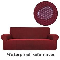 LUG Sofa slipcover, Water Repellent Skid-Resistance Furniture Cover, Polar Fleece Polyester Spandex Elastic Fabric Sofa Protector, Furniture Covers for Back Seat Covers, Seat Covers For Chairs, Fabric Sofa, Cushions On Sofa, Loveseat Covers, Sofa Protector, Old Sofa, L Shaped Sofa, Furniture Covers