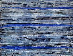 Les Zarts de Béné - Acrylique 35x27 cm Salvador Dali, Le Havre, Blue Wood, Art Abstrait, Les Oeuvres, Abstract, Artwork, Chiaroscuro, Summary