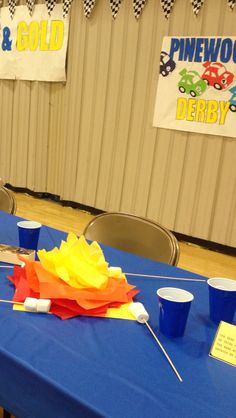 #cubscouts Blue and Gold Banquet ideas