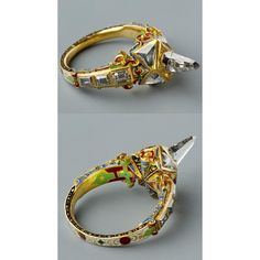 Jewelry Inspiration of the day: Icicle-shaped diamond ring, late 16th century #jewelryinspiration  #museumofappliedarts