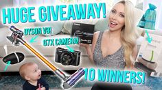 MASSIVE 700k GIVEAWAY! ⭐ 10 WINNERS! G7X Camera, Dyson V8 + MORE!!!