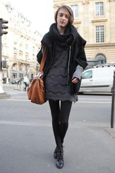 Paris Fashion Week Model Street Style: Jac Jagaciak & More