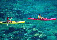 Kayakers on the Sea of Cortez, Baja, Mexico (Photo: Bruce Herman, Mexico Tourism Board ) Loreto in Baja