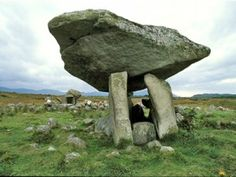 The Burren, County Clare, Ireland, offers a collection of holy wells, standing stones, ancient churches & forgotten tombs..