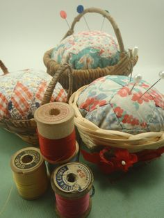 Upcycled Quilt Pin Cushion Repurposed Pincushion