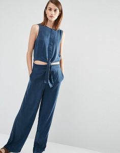 Pin for Later: The Stylish Summer Staple That Feels Like PJs  Selected Brooke Jumpsuit ($219)