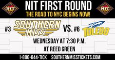 First Round of the NIT starts in an hour. Come out and cheer on your Golden Eagles!