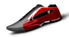 Motorsports footwear work for Fila  Concepts and products for Ferrari, Ducati and Michael Schumacher franchises.