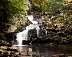Waconah Falls, near Dalton in Berkshire County, MA