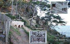 Les fours à plâtre de la pointe Grenier à St Cyr sur Mer