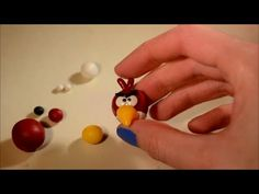 How to make an angry bird out of polymer clay