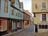 The historic city of Norwich, Norfolk, England