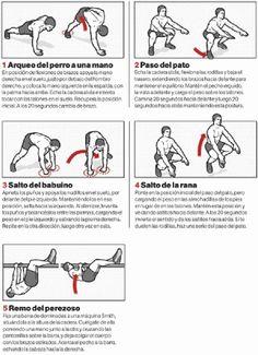 ACELERA TU METABOLISMO CON CINCO MOVIMIENTOS INSPIRADOS EN ANIMALES | Aptitud Fitness