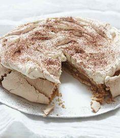 Nigella Lawson's Cappuccino Pavlova  #yum think i'll put this on the list of dishes i'll make for xmas