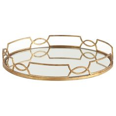 gold mirror tray. you know what thats for