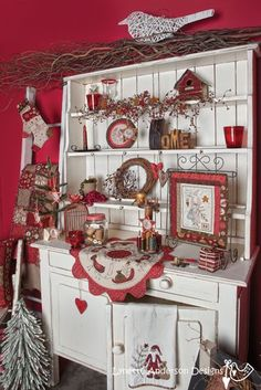 Stitch it for christmas. A little of Lynette Anderson's creations. Just love it.