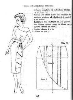 A little bit of slashandspread goes a long way ____________________________________ patterncuttingtechniques patterncuttingdeconstructed patterns patterncutter Vintage Sewing Patterns, Clothing Patterns, Dress Patterns, Pola Rok, Patron Vintage, Donia, Fashion Dictionary, Modelista, Sewing Studio