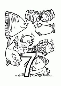 Pattern Number 2 coloring pages for kids counting numbers