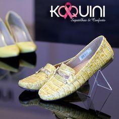 Alegria, frescor e conforto em croco amarelo, que tal? #koquini #sapatilhas #euquero #mocassim by #wirth Compre Online: http://koqu.in/1Nek77V