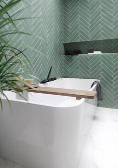 Family Bathroom, Laundry In Bathroom, Bad Inspiration, Bathroom Inspiration, Bathroom Design Small, Bathroom Interior Design, Herringbone Tile, Bathroom Goals, Bathroom Renos
