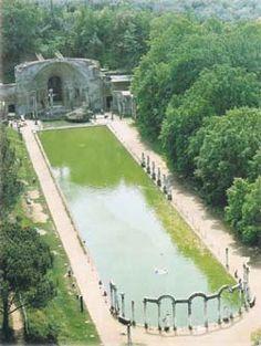 Hadrians Villa, Tivoli Gardens