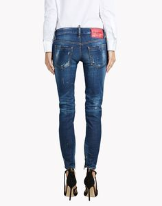 Cropped Jeans | Shop Designer Cropped Denim for Women | Lyst