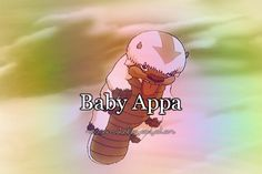 Avatar the Last Airbender: Baby Appa Korra Avatar, Team Avatar, Appa Avatar, Avatar Funny, Zuko, Sneak Attack, Avatar The Last Airbender Art, Fire Nation, Asami Sato