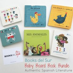 A description of the Baby Board Book Bundle a phenomenal resource for bilingual parents looking for high quality authentic Spanish language books.
