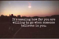 Creemos en las personas...