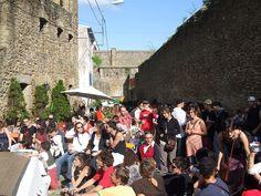 La rue de saint-Malo en fête. Recouvrance