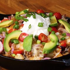Loaded Tater Tot Nachos