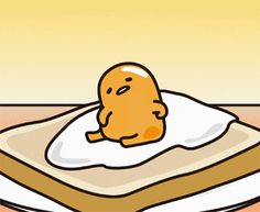 Discover & share this Gudetama GIF with everyone you know. GIPHY is how you search, share, discover, and create GIFs. Sanrio Characters, Cute Characters, Kawaii Drawings, Cute Drawings, Pusheen, Egg Gif, Lazy Egg, Japon Tokyo, Cute Egg