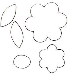 patron de flores para coser - Buscar con Google