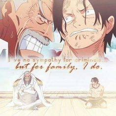 The FEELS man! I couldn't imagine being in Garps position. It was terrible for him to see his grandson like this