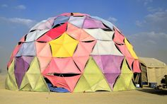 The Shaddy Waffle dome camp