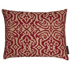 Maroc Weave Claret Rectangular Cushion