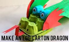 An Egg Carton Dragon Can Compel Your Kid To Indulge In DIY Recycling Art.