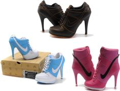 """""""pretty high heel, nike heel is the best gift for Christmas?"""" by makecase on Polyvore"""