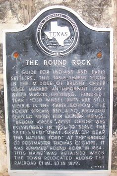 Round Rock, Texas.  Where I used to live!  :)