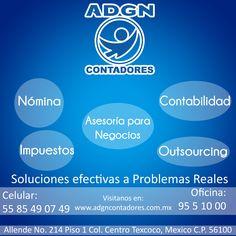 El contador es esa persona que te organiza las cosas cuando ya perdiste la cuenta. http://negocilibre.com/directorio/adgn-contadores-publicos/
