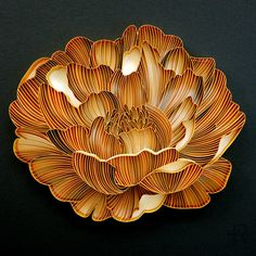 Quilling Work, Quilling Flowers, Paper Peonies, Paper Flowers, Paper Art, Paper Crafts, Quilling Designs, Succulent Plants, Flower Crafts