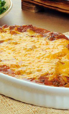 Creamy Burrito Casserole Recipe