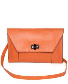 bde113bca2ea Clutch-y Subject Orange Clutch