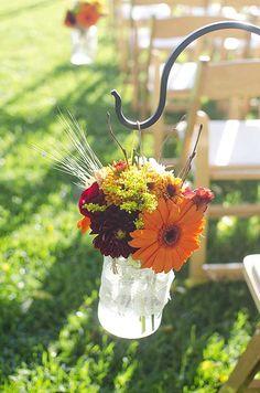 Real Wedding, California Vineyard Wedding, Rustic, Vintage, Small Wedding, Fall || Colin Cowie Weddings