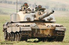 Tank Challenger 2 của lục quân  Ạnh Cát Lợi